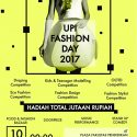 UPI Fashion Day 2017 (Pre Event of DEVASANA) - Universitas Pendidikan Indonesia, 10 April'17