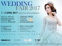 Wedding Fair - Aston Pluit Hotel & Residence Jakarta, 01 - 02 April 2017