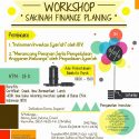 Workshop Sakinah Finance Planning - Aula Perpustakaan Balaikota Depok, 25 Maret 2017