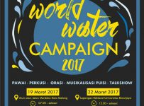 World Water Campagin - Alun-Alun Kota Malang dan Universitas Brawijaya, 19 & 22 Maret 2017