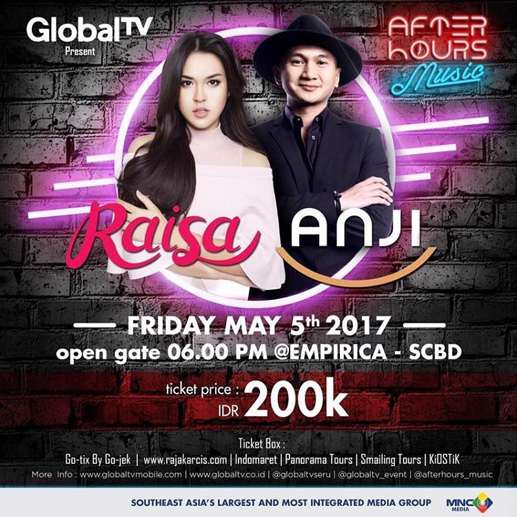 After Hours with Raisa & Anji - Empirica SCBD Jakarta, 5 Mei 2017