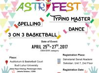 "Astri Fest Vol. 5 ""Show The World, You Are The Winner"" - Universitas Budi Luhur, 25 - 27 April 2017"