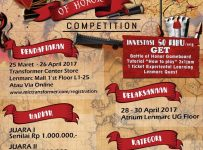 Battle of Honor Competition (Strategy Game) - Lenmarc Mall Surabaya, 28 - 30 April 2017