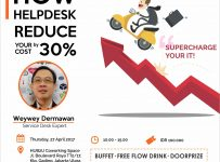 Business Talk : How Helpdesk Reduce Your Cost By 30% - HUB2U Coworking Space, 27 April 2017
