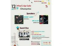 "Coaching Clinic ""Blow Up Your Mind With Music"" - What's Up Cafe Cihampelas, 12 Mei 2017"