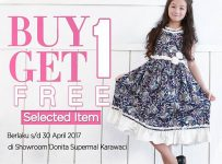 Donita Dress Buy 1 Get 1 Free, Periode April 2017