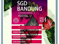 Food and Fashion Festival - UIN SGD Bandung, 14 Mei 2017