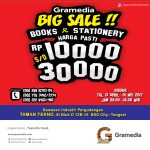 Gramedia Big Sale - Taman Tekno BSD City, 13 April - 1 Mei 2017