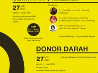 Heroes III : Seminar & Donor Darah - Universitas Gunadarma, 27 April 2017