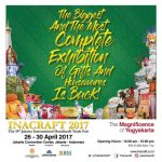 "Inacraft ""The Magnificence of Yogyakarta"" - Jakarta Convention Center (JCC), 26 - 30 April 2017"