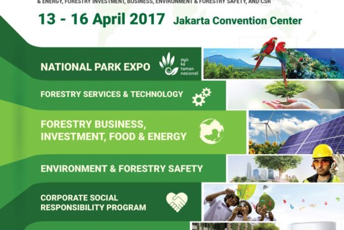 IndoGreen Environment & Forestry Expo (IEFE) - Jakarta Convention Center, 13 - 16 April 2017