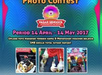 Instagram #PasarSenggol2017 Photo Contest - Summarecon Mal Bekasi, Periode14 April - 14 Mei 2017
