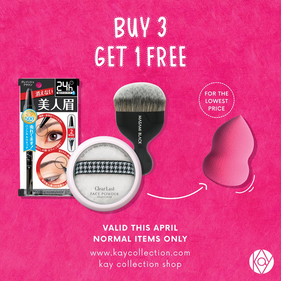 Kay Collection Promo, Buy 3 Get 1 Free - Periode April 2017