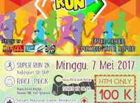 Kids Super Run - Unesa Lidah Wetan, 7 Mei 2017