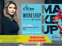 Make up Workshop by Eva Bun Academy - Ah Poong! Pasar Apung Sentul City Bogor, 22 April 2017