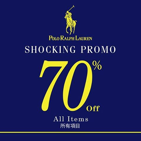 Polo Ralph Lauren Shocking Promo, Periode April 2017