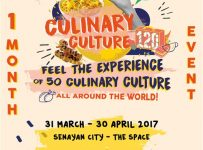 #Scfoodies by Hype! Culinary Culture - Senayan City Jakarta, 31 Maret - 30 April 2017