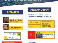 Seminar Ethical Hacking and Cyber Security - Universitas Gajayana Malang, 14 Mei 2017