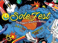 Sole Fest : The Biggest Sneakers Market - Kuningan City Jakarta, 5 - 7 Mei 2017