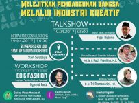 Talkshow dan Workshop Kembangnas - Universitas Negeri Surabaya Kampus Lidah Wetan, 19 April 2017