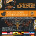 The 18th Borneo Island International Big Bike Festival & 2nd Kalimantan Bike Week - Borneo City Mall Sampit, 28 - 30 April 2017