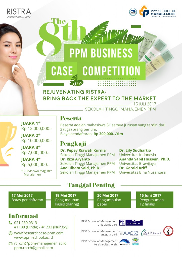 The 8th PPM Business Case Competition - PPM School of Management