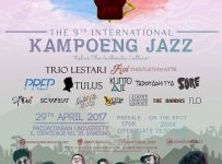 The 9th International Kampoeng Jazz - Unpad Dipatiukur Bandung, 29 April 2017