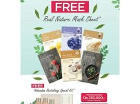 The Face Shop Free Mask Sheet, Periode April 2017