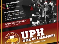 "UPH Week Of Champions ""Athletic Perfection"", 15 - 20 Mei 2017"