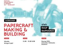 Workshop Papercraft Making and Building - Universitas Multimedia Nusantara, 18 April 2017