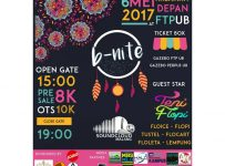 B-Nite (Bohemian Night) - Universitas Brawijaya, 6 Mei 2017