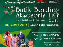 Batik Bordir & Aksesoris Fair - Grand City Surabaya, 10 - 14 Mei 2017