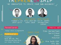 "Bistrepreneurship ""Be Innovative to Create Your Own Business"" - Universitas Sangga Buana YPKP, 24 Mei 2017"