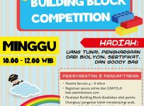 Building Block Competition Kids Education Expo Indonesia - Hotel Pullman Jakarta Central Park, 14 Mei 2017
