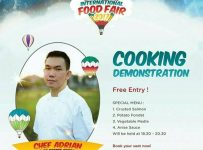 Cooking Demonstration with Chef Adrian - The Sages Institute Surabaya, 20 Mei 2017