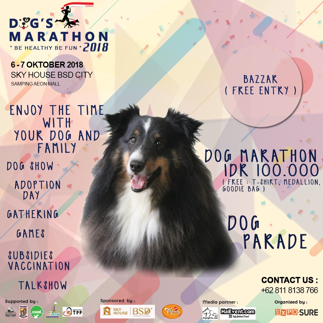 Dog Marathon - Sky House BSD City, 06-07 Oktober 2018
