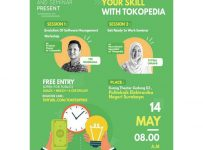 Explore Your Skill With Tokopedia - Politeknik Elektronika Negeri Surabaya, 14 Mei 2017