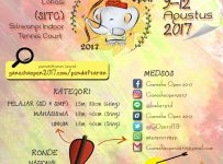 Ganesha Open (National Indoor Archery Tournament) - Siliwangi Indoor Tennis Court Bandung, 9 - 12 Agustus 2017