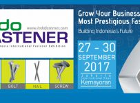 Indofastener - Jakarta International Expo, 27 - 30 September 2017