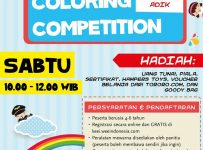 "KEEI 2017 : Coloring Competition ""Kategori Adik"" - Hotel Pullman Jakarta Central Park, 13 Mei'17"