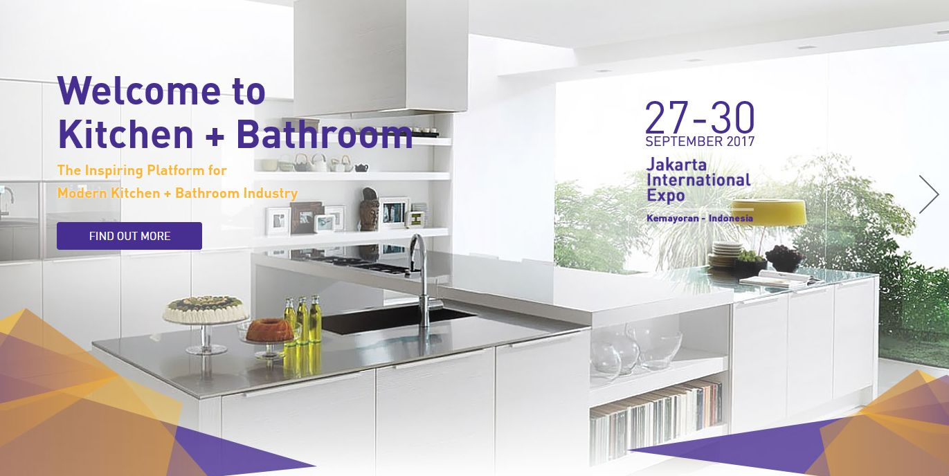 Kitchen + Bathroom Indonesia 2017