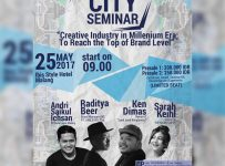 """Malang """"CITY"""" Seminar : To Reach The Top of Brand Level - Ibis Styles Malang, 25 Mei 2017"""