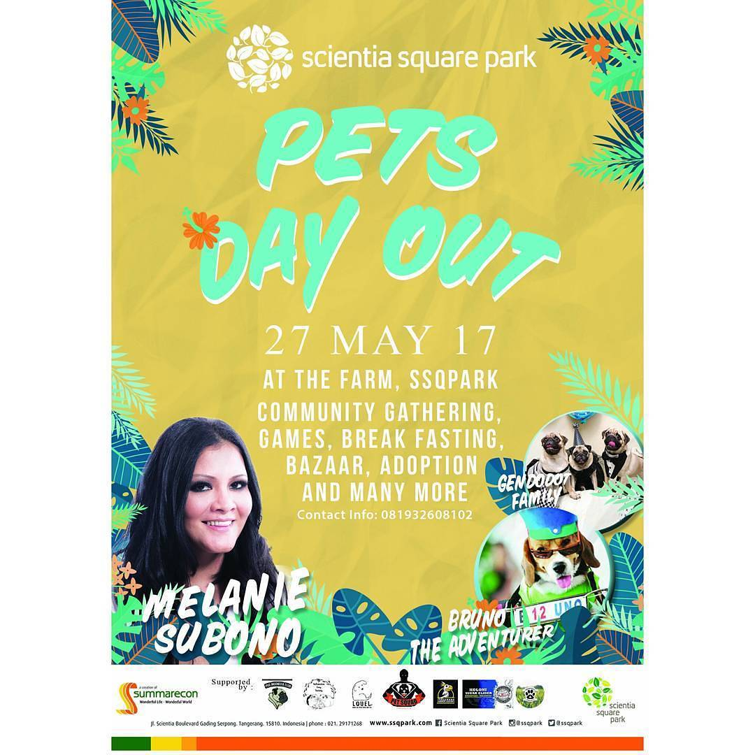 Pet's Day Out - Scientia Square Park Serpong, 27 Mei 2017