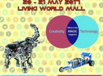 Robotic Competition - Living World Mall, 20 - 21 Mei 2017