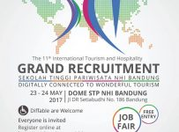 STP NHI Bandung International Job Fair, 23 - 24 Mei 2017