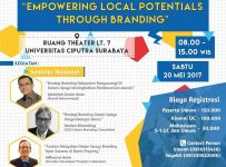 Seminar Nasional IKA MM - UC : Empowering Local Potentials Through Branding - Universitas Ciputra, 20 Mei 2017