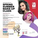 Spring Summer Make Up Class - Galaxy Mall Surabaya, 12 & 14 Mei 2017