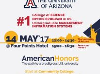 Study at a TOP US University - Four Points Hotel Surabaya, 14 Mei 2017