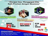 Talkshow and Scholarship Expo - Universitas Negeri Semarang, 21 Mei 2017
