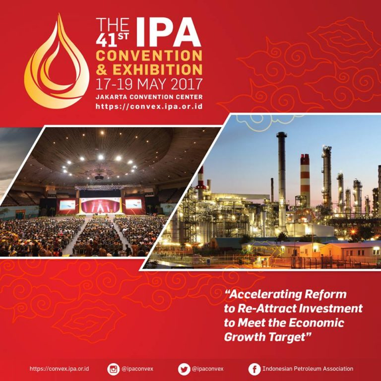 The 41st Indonesian Petroleum Association Convention and Exhibition (IPA Convex) - JCC, 17-19 Mei 2017
